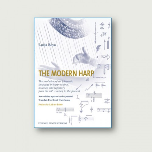 The evolution of an idiomatic language in harp writing, notation and repertory from the 16th  century to the present.